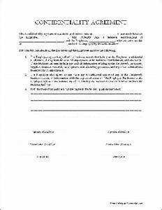 examples of confidentiality statements video search With privacy contract template