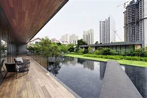 Home, With, Underground, Courtyard, And, Rooftop, Gardens