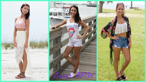 Beach Vacation Outfits Summer ootw Lookbook! YouTube