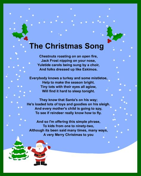 christmas carols songs and lyrics christmas carols