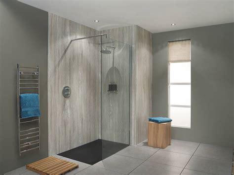 stylish bushboard nuance travertine wetroom nj design