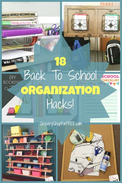 back to school hacks to 17 best images about back to school on organization hacks organizing tips and