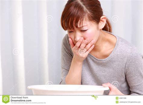 Wanita Hamil 2d Vomiting Woman Stock Photo Image 43821286