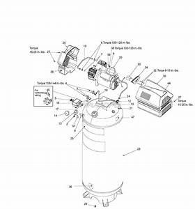 Sears Craftsman 919 165610 Air Compressor Parts