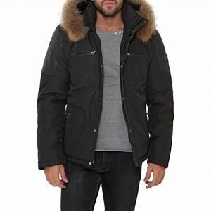 Manteau Homme Avec Fourrure : veste parka fourrure oakwood bergen pour homme ~ Melissatoandfro.com Idées de Décoration