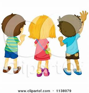 kids waving goodbye | Frederick's book | Pinterest ...