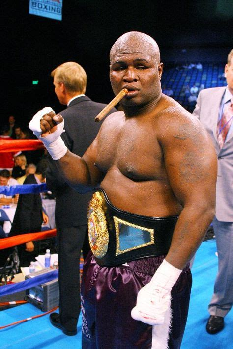 heavyweight fighter james toney cigar smoking