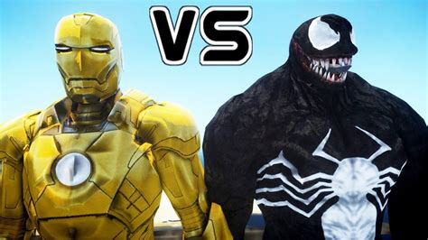 Iron Man (mark Xxi Midas) Vs Venom