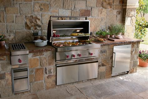 wolf 42 quot outdoor gas grill stainless steel gas