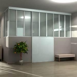 Porte De Placard Style Verriere : amenagement interieur sur mesure s paration portse coulissantes sga ~ Nature-et-papiers.com Idées de Décoration