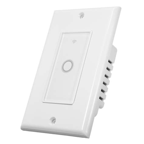excellway 110v smart wifi wall switch smart touch light