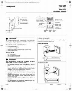 Honeywell Rlv430 User Manual