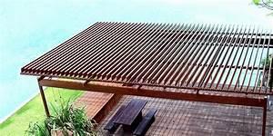Pergola Lame Orientable : lame orientable bois kit pergola lame orientable lame ~ Dallasstarsshop.com Idées de Décoration