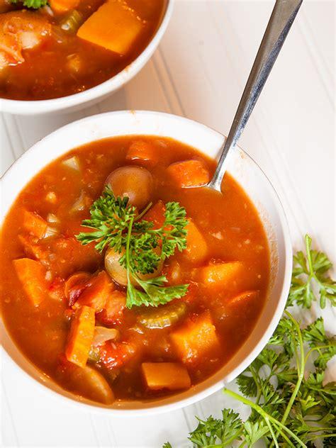 Root Vegetable Stew Healthy Food
