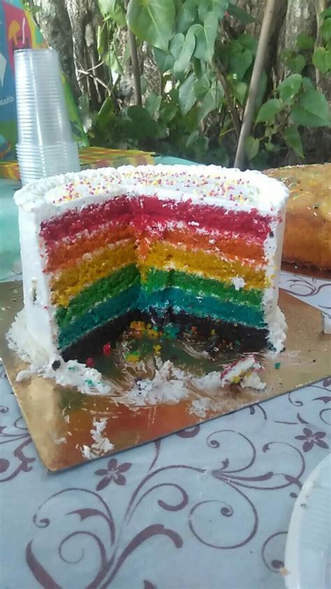 hervé cuisine rainbow cake recette du rainbow cake ou gâteau arc en ciel facile avec