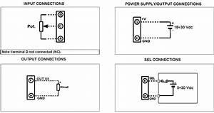 Potentiometer Converter Dat205 3w