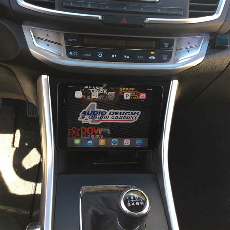 honda accord ipad mininexus  dash kit