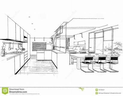 Interior Architecture Construction Architettura Sketc Landscape Binnenlandse