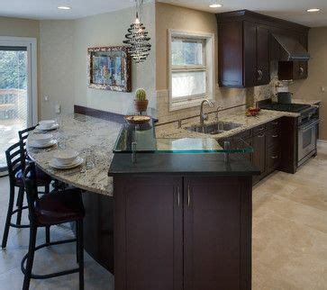 drawers for kitchen cabinets 17 best ideas about peninsula kitchen design on 6957