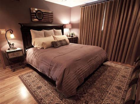 serene bedroom with luxury fabrics hgtv