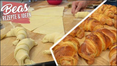 schnelle croissants ohne fertigteig croissant