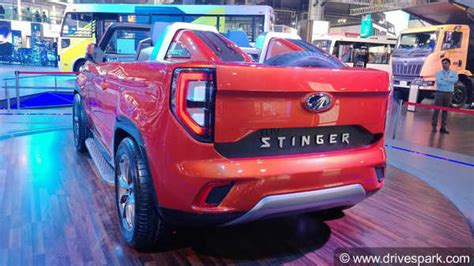 Mahindra Tuv Stinger Revealed
