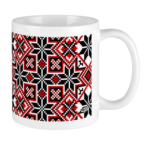 The mugs featured in this post are not just practical, though. CafePress - Folk Design 8 Mug - Unique Coffee Mug, Coffee ...