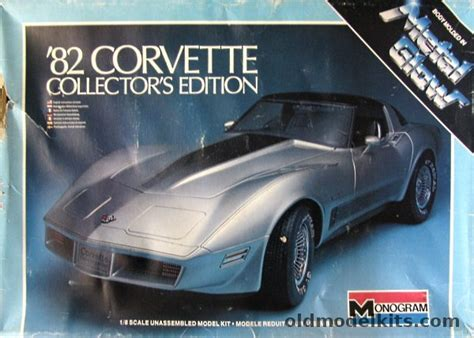 monogram   chevrolet corvette metal glow issue