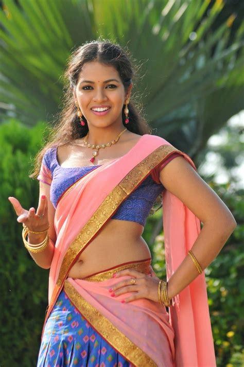 actress jayanthi caste actress gouthami chowdary latest half saree stills cine
