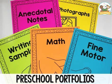 preschool portfolio ideas pre k pages 847   Preschool Portfolio Printables