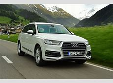 New Audi Q7 2015 review Auto Express