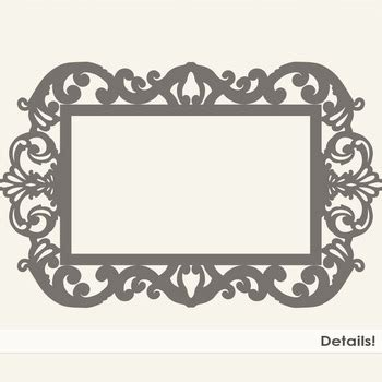 ornate fancy frames formal decorative frame elegant