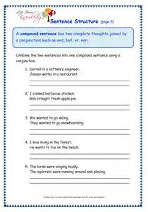 Sentence Structure Grammar Worksheet