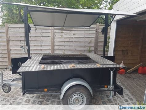 cooking jeux de cuisine remorque frigo tourne broche barbecue 2ememain be