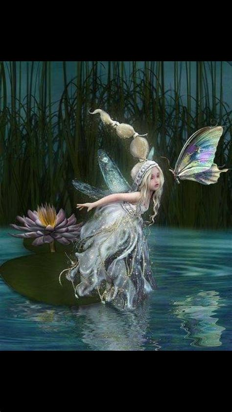 water fairy celtic faerie tales legends  myths
