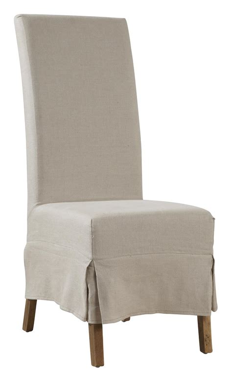 furniture classics accents linen slip covered parsons