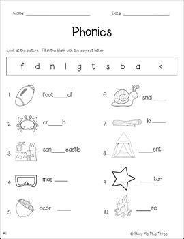 phonics worksheet pack phonograms kindergarten first