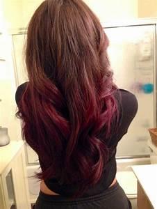 Ombré Hair Rouge : 17 best hair images on pinterest braids hair colors and ink ~ Melissatoandfro.com Idées de Décoration