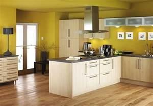 kitchen paint color ideas cocina con piso de madera y muebles de melamina muebles