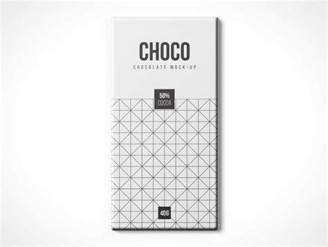 Free chocolate candy sachet mockup psd vol 1. Chocolate Box Package PSD Mockup - PSD Mockups