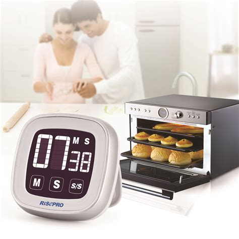 minuterie de cuisine numérique minuterie de cuisine count up magnetic grand écran lcd 24 heures ebay