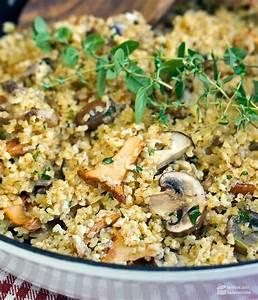 Bulgur Rezepte Vegetarisch : herbstliche bulgur pilzpfanne mit thymian madame cuisine ~ Lizthompson.info Haus und Dekorationen