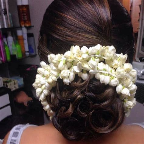 bun  curlsjpg  indian hair accessories