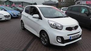 Used 2015 KIA PICANTO 125 White 3dr Auto For Sale In