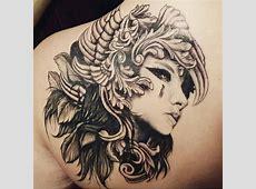 Tatouage Ange Femme Triste Tattoo Art