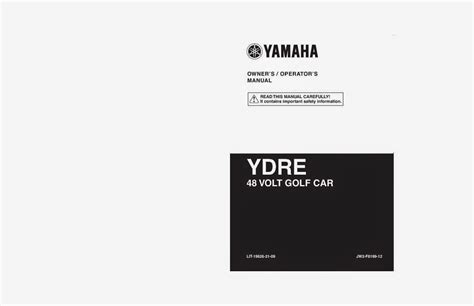 wiring diagrams and free manual ebooks yamaha ydre 48 volt golf car owners and service manual