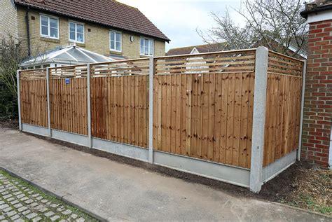Slotted Fence Posts & Gravel Boards   Allen Concrete