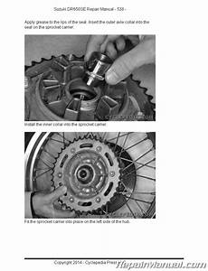 Suzuki Dr650se Motorcycle Service Manual Printed Cyclepedia