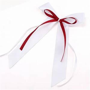 Noeud De Voiture Mariage : 10x noeud papillon ruban satin pour voiture salle rouge vin blanc ebay ~ Dode.kayakingforconservation.com Idées de Décoration