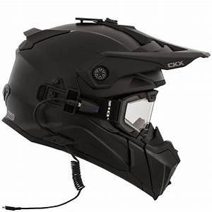 Casque Protection Electrique : ckx titan casque couleur unie pour motoneige avec ~ Edinachiropracticcenter.com Idées de Décoration